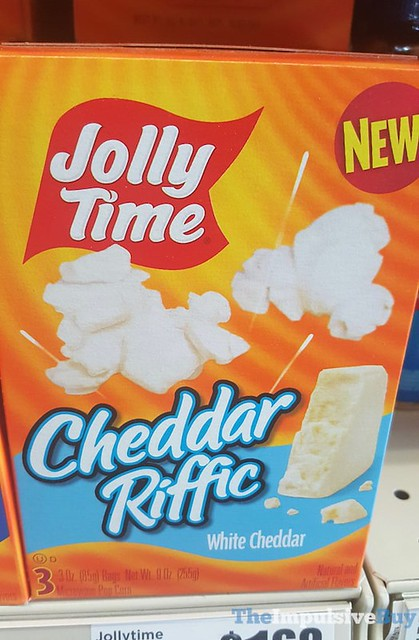 Jolly time Cheddar Riffic Microwave Popcorn