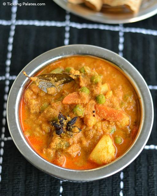 Chapathi Kurma Recipe
