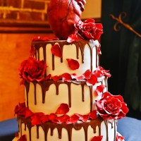 Eat your heart out... of your wedding cake