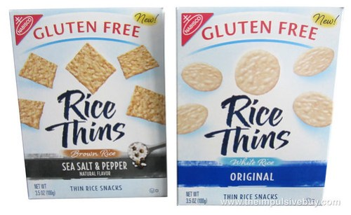 Nabisco Rice Thins (Original and Sea Salt & Pepper)