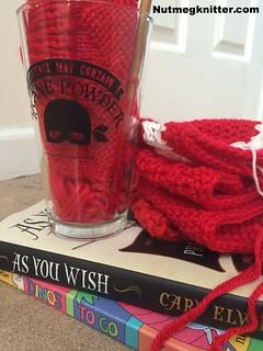 Yarn Along 12.31.14