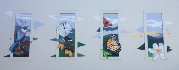 nature mural by Ira Mitchell-Kirk