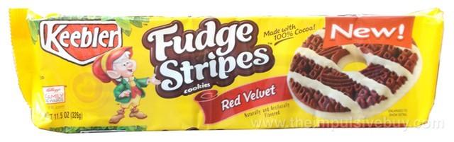 Keebler Red Velvet Fudge Stripes Cookies