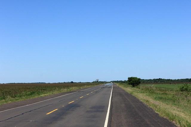 Ruta 4 Pilar-San Igunacio,Paraguay 20141108