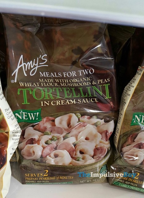 Amy's Meals for Two Tortellini in Cream Sauce