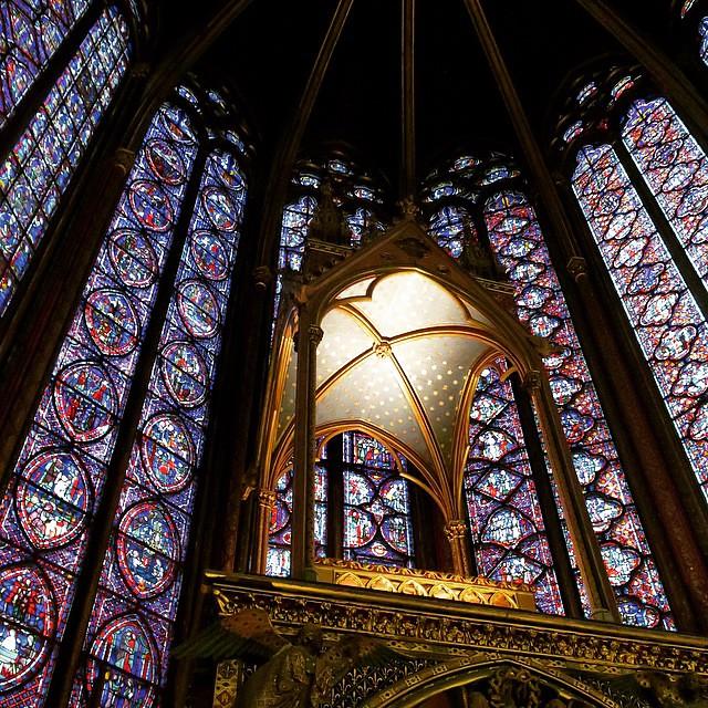 Paris Day One: Sainte-Chapelle.