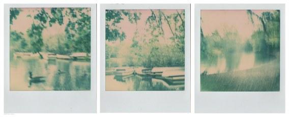 Hollow Ponds ~ Polaroid Triptych