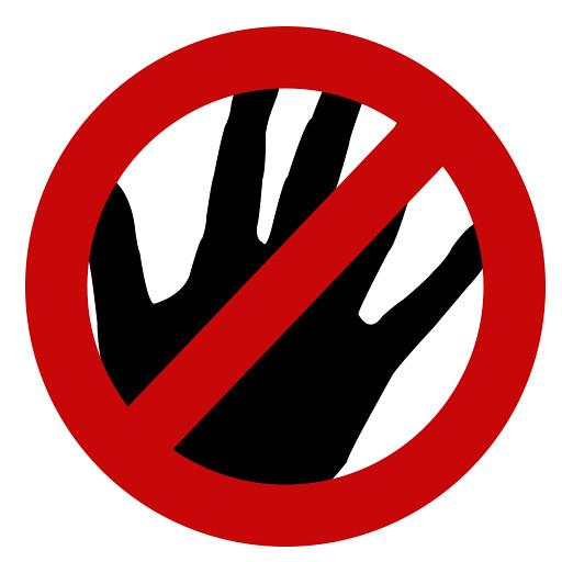 No right hand Please