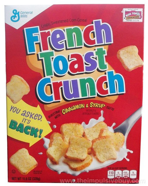 French Toast Crunch 2015 Return