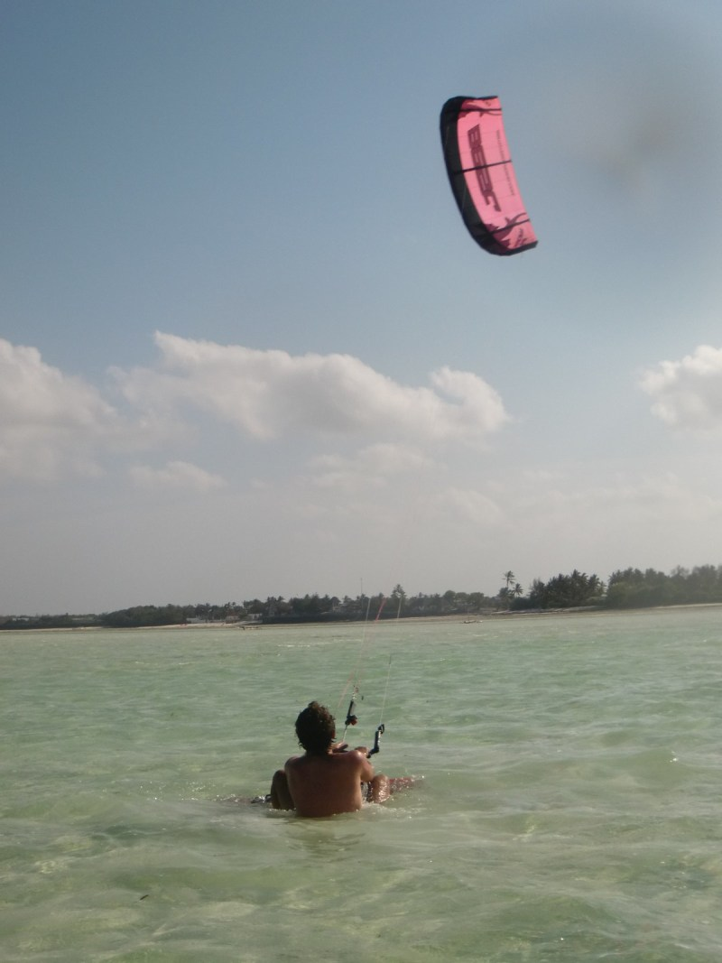 One of the great pleasures on this humble island... Kiteboarding