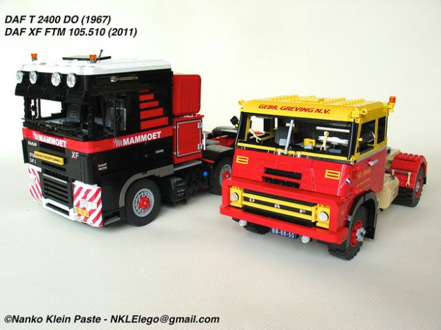 DAF trucks by Nanko Klein Paste on flickr