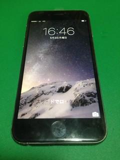 85_iPhone6のフロントパネル液晶割れ