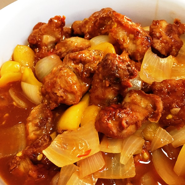 Sweet and Sour Air Fried Chicken