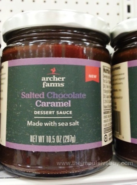 Archer Farms Salted Chocolate Caramel Dessert Sauce