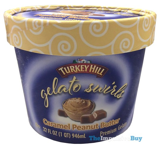Turkey Hill Caramel Peanut Butter Gelato Swirls