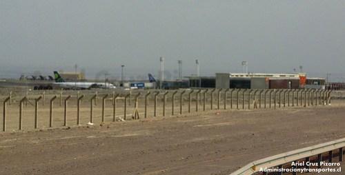 Aeropuerto Diego Aracena - IQQ