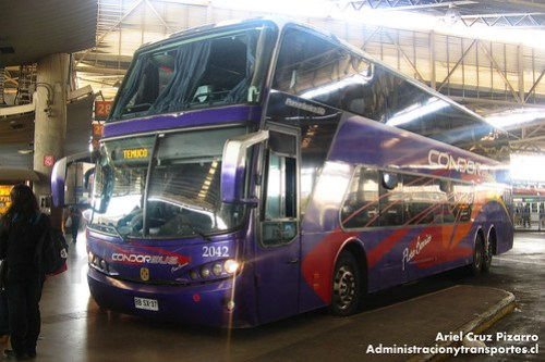 Condor Bus - Santiago - Busscar Panorâmico DD / Scania (BBSX37)