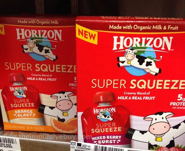 Horizon Super Squeeze (Orange Blast & Mixed Berry Burst)