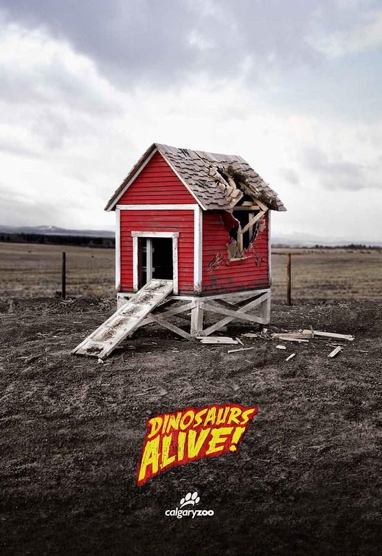 Calgary Zoo - Dinosaurs Alive Shelter