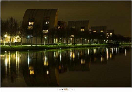 De zeilboot woningen