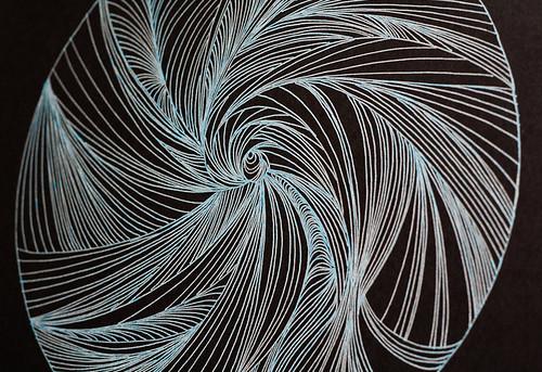 Circle line drawings