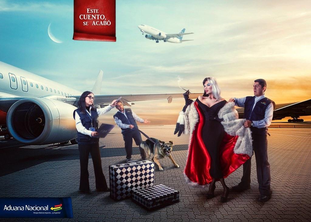 Aduana Nacional de Bolivia - This story ends here Cruella