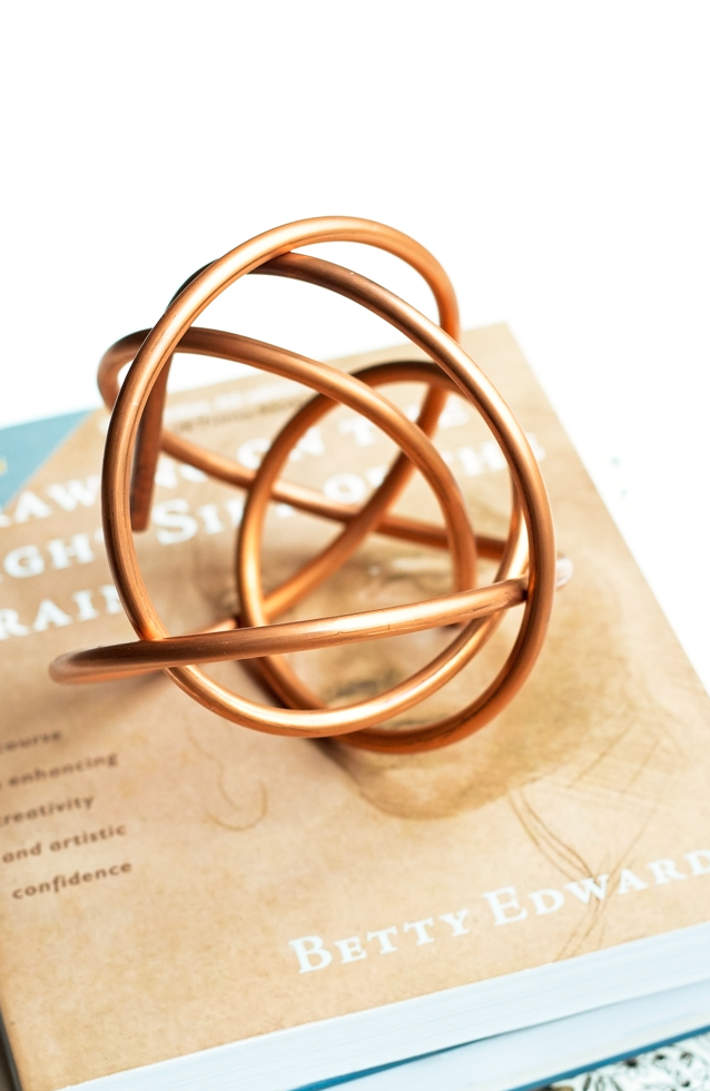 Copper Coil Sculpture