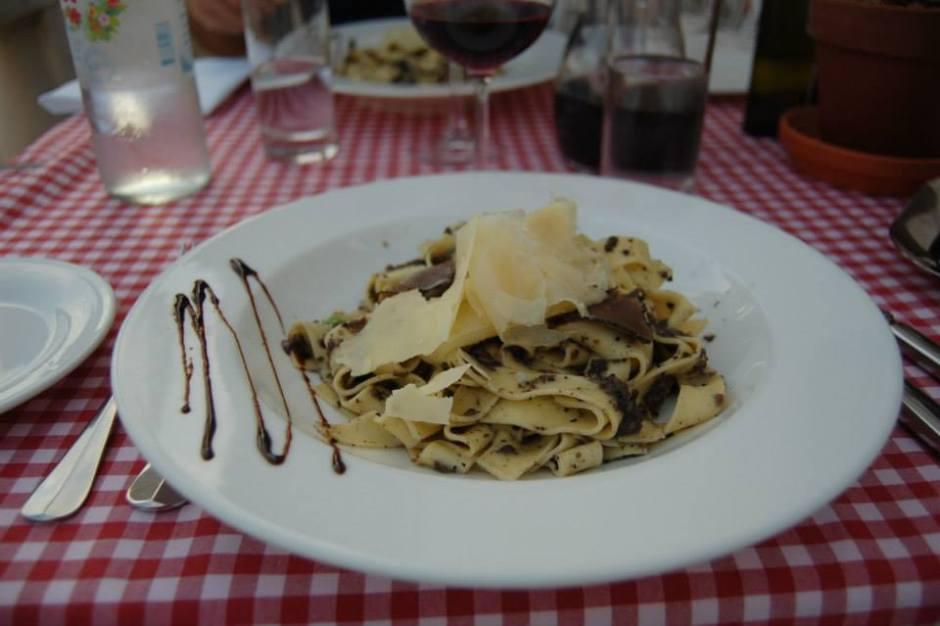 Hvar truffle pasta
