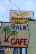 The Palm Cafe in Orick, CA