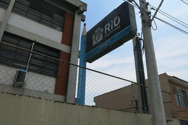Hortas Cariocas project at Escola Cardeal Câmara, Parada de Lucas