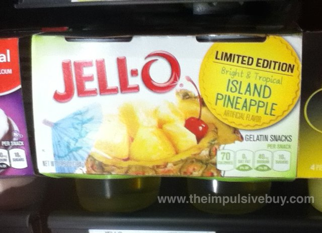 Limited Edition Island Pineapple Jello