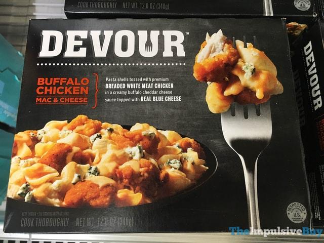 Devour Buffalo Chicken Mac & Cheese