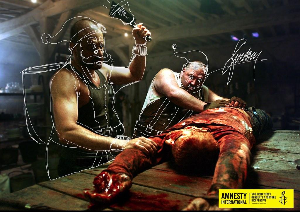 Amnesty International - Signatures against torture Santa