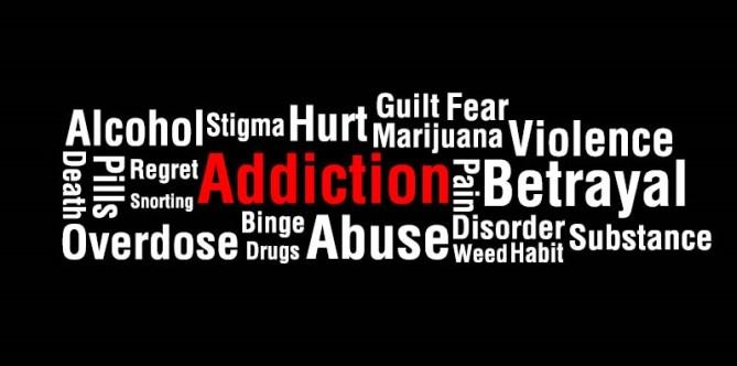 addictions collage