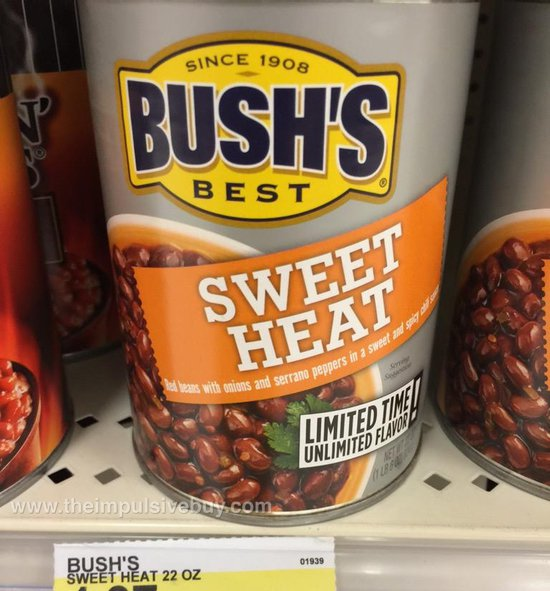 Bush's Limited Time Sweet Heat Red Beans