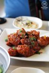 Chilli and Marmalade glazed Korean Fried Chicken at Yummy World, Eastwood