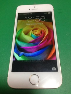 87_iPhone5Sのフロントパネルガラス割れ