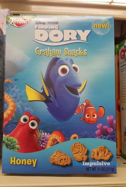 Keebler Finding Dory Honey Graham Snacks