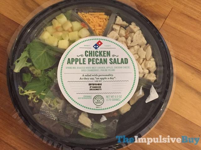 Domino's Chicken Apple Pecan Salad