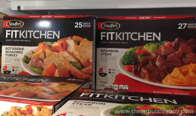 Stouffer's Fit Kitchen Rotisserie Seasoned Chicken and Bourbon Steak