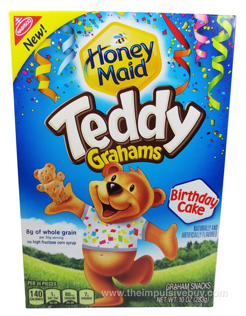 Honey Maid Birthday Cake Teddy Grahams