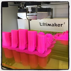 Pretty in pink @ultimaker @colorfabb_official @enablethefuture #prettyinpink #um2plus #upgrade