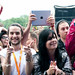 IPad photographer at Park Life Festival, Manchester, England 09-06-2012