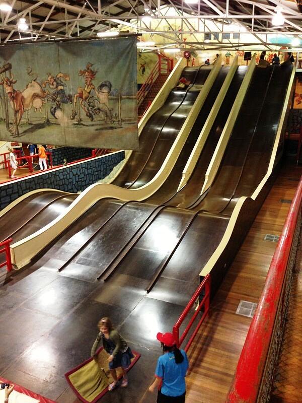 Devils slide