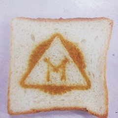 Thats what happens when you put a piece of bread in the laser cutter!