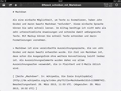 """iA Writer (iPad) • <a style=""""font-size:0.8em;"""" href=""""http://www.flickr.com/photos/22392081@N00/8600310963/"""" target=""""_blank"""">View on Flickr</a>"""