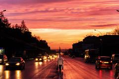 Sunset / Novosibirsk / Siberia / 27.04.2013