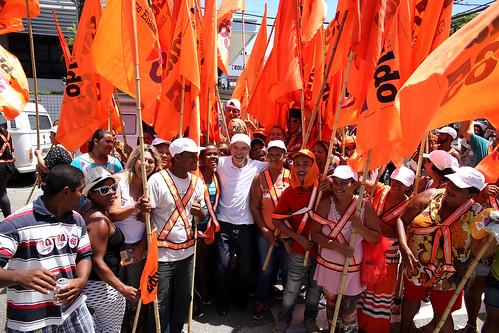 Desfile Cívico na Barão de Maruim