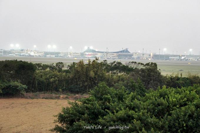 [桃園大圍]*看飛機起降《奇跡咖飛場》 Yukis Life by yukiblog.tw