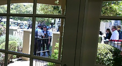 Police from inside